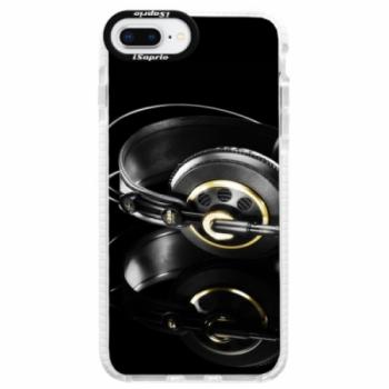 Silikonové pouzdro Bumper iSaprio - Headphones 02 - iPhone 8 Plus