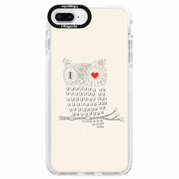 Silikonové pouzdro Bumper iSaprio - I Love You 01 - iPhone 8 Plus