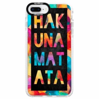 Silikonové pouzdro Bumper iSaprio - Hakuna Matata 01 - iPhone 8 Plus