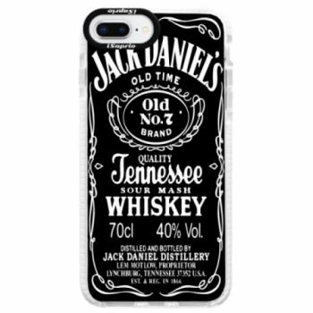 Silikonové pouzdro Bumper iSaprio - Jack Daniels - iPhone 8 Plus