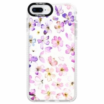 Silikonové pouzdro Bumper iSaprio - Wildflowers - iPhone 8 Plus