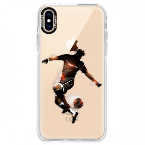 Silikonové pouzdro Bumper iSaprio - Fotball 01 - iPhone XS Max