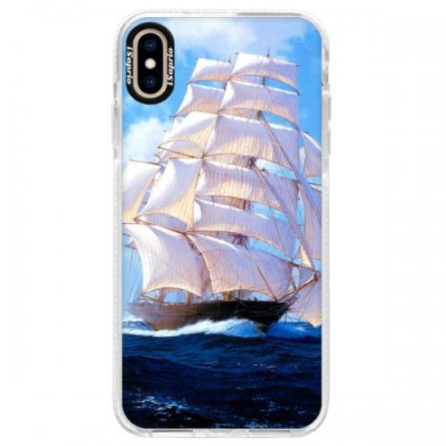 Silikonové pouzdro Bumper iSaprio - Sailing Boat - iPhone XS Max