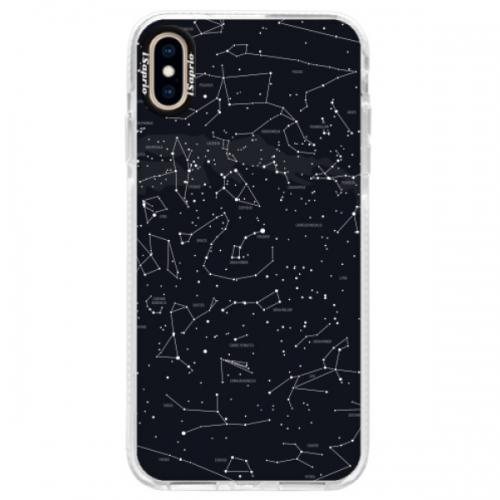 Silikonové pouzdro Bumper iSaprio - Night Sky 01 - iPhone XS Max