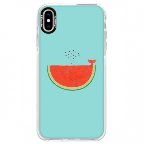 Silikonové pouzdro Bumper iSaprio - Melon - iPhone XS Max