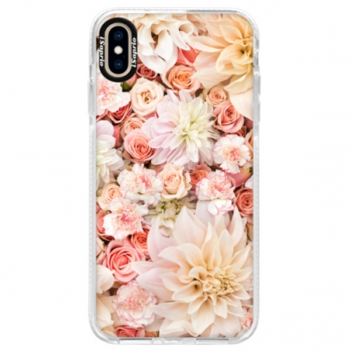 Silikonové pouzdro Bumper iSaprio - Flower Pattern 06 - iPhone XS Max