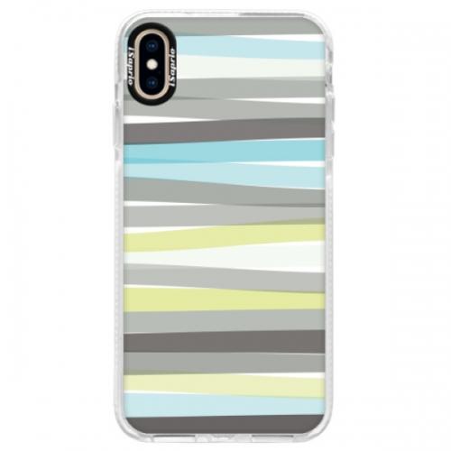 Silikonové pouzdro Bumper iSaprio - Stripes - iPhone XS Max