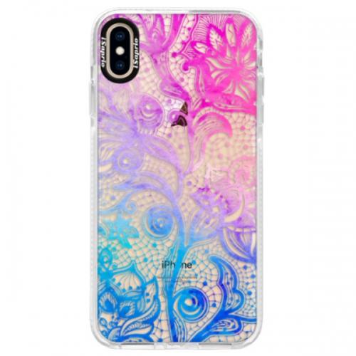 Silikonové pouzdro Bumper iSaprio - Color Lace - iPhone XS Max