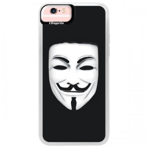 Neonové pouzdro Pink iSaprio - Vendeta - iPhone 6/6S