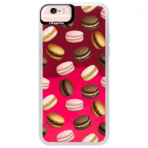 Neonové pouzdro Pink iSaprio - Macaron Pattern - iPhone 6/6S