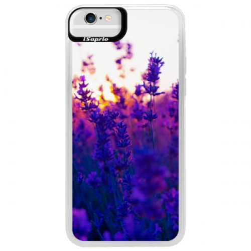 Neonové pouzdro Blue iSaprio - Lavender Field - iPhone 6/6S