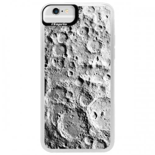 Neonové pouzdro Blue iSaprio - Moon Surface - iPhone 6/6S