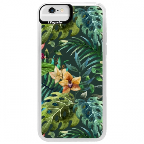 Neonové pouzdro Blue iSaprio - Tropical Green 02 - iPhone 6/6S