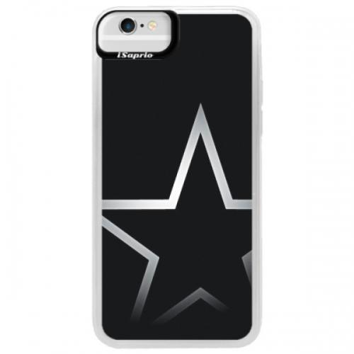 Neonové pouzdro Blue iSaprio - Star - iPhone 6/6S