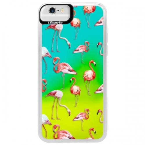 Neonové pouzdro Blue iSaprio - Flami Pattern 01 - iPhone 6/6S
