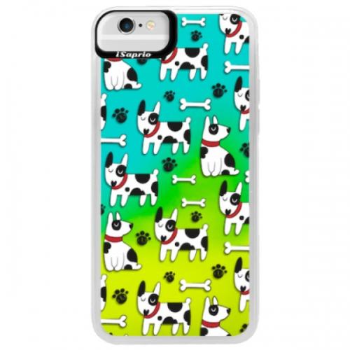 Neonové pouzdro Blue iSaprio - Dog 02 - iPhone 6/6S