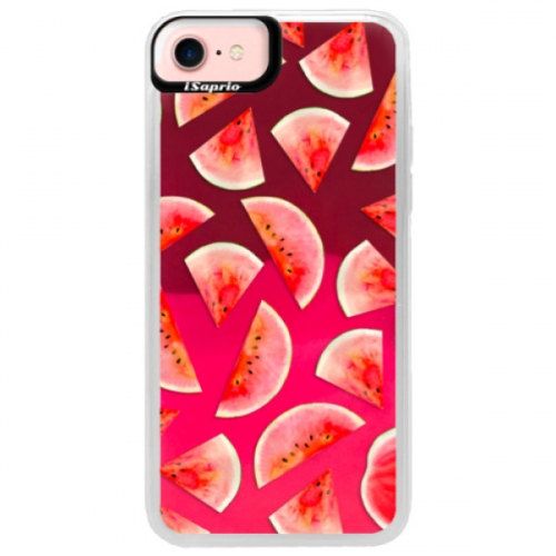 Neonové pouzdro Pink iSaprio - Melon Pattern 02 - iPhone 7
