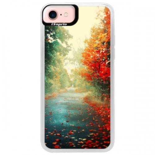 Neonové pouzdro Pink iSaprio - Autumn 03 - iPhone 7