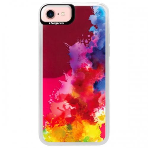 Neonové pouzdro Pink iSaprio - Color Splash 01 - iPhone 7