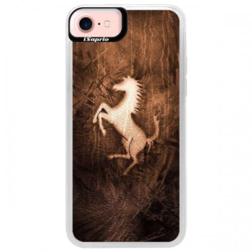 Neonové pouzdro Pink iSaprio - Vintage Horse - iPhone 7