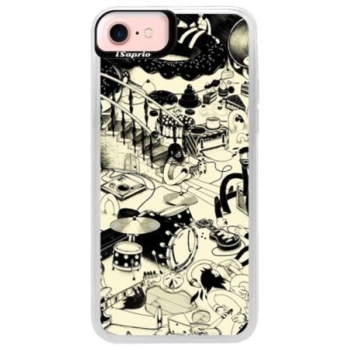 Neonové pouzdro Pink iSaprio - Underground - iPhone 7