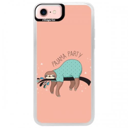 Neonové pouzdro Pink iSaprio - Pajama Party - iPhone 7