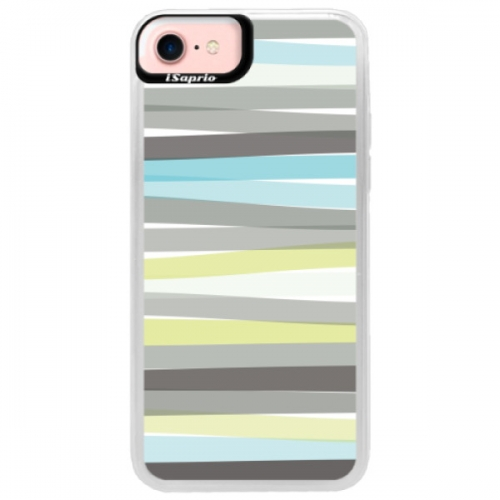Neonové pouzdro Pink iSaprio - Stripes - iPhone 7