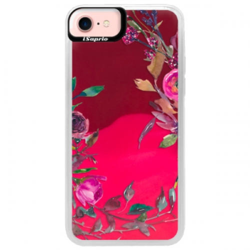 Neonové pouzdro Pink iSaprio - Herbs 01 - iPhone 7