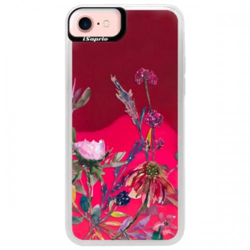 Neonové pouzdro Pink iSaprio - Herbs 02 - iPhone 7