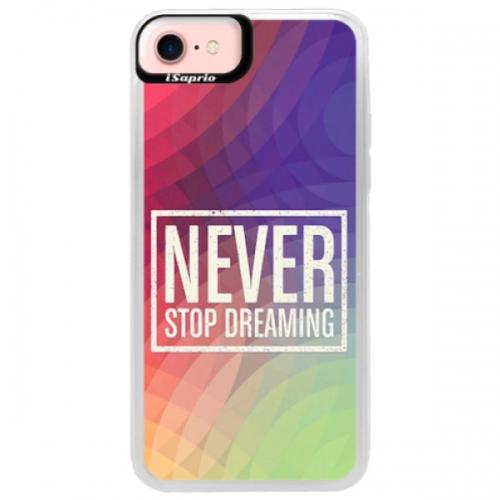 Neonové pouzdro Pink iSaprio - Dreaming - iPhone 7