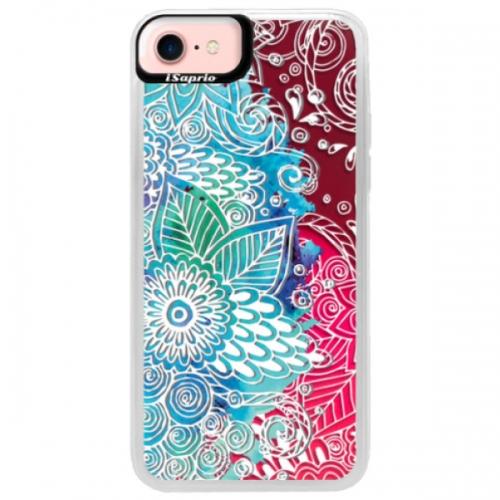 Neonové pouzdro Pink iSaprio - Lace 03 - iPhone 7