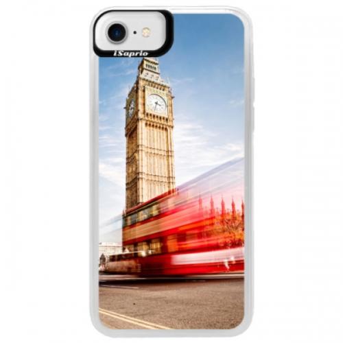 Neonové pouzdro Blue iSaprio - London 01 - iPhone 7