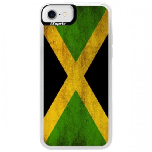 Neonové pouzdro Blue iSaprio - Flag of Jamaica - iPhone 7