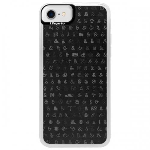 Neonové pouzdro Blue iSaprio - Ampersand 01 - iPhone 7