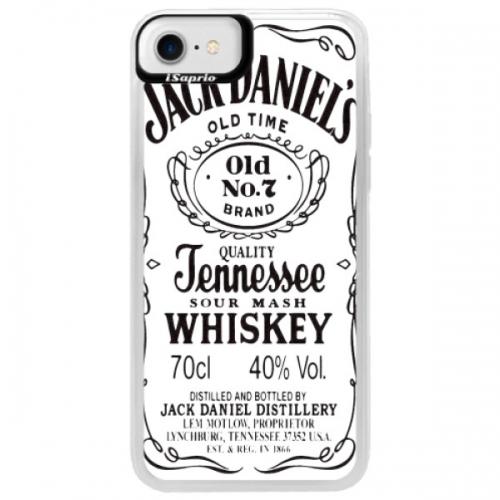 Neonové pouzdro Blue iSaprio - Jack White - iPhone 7