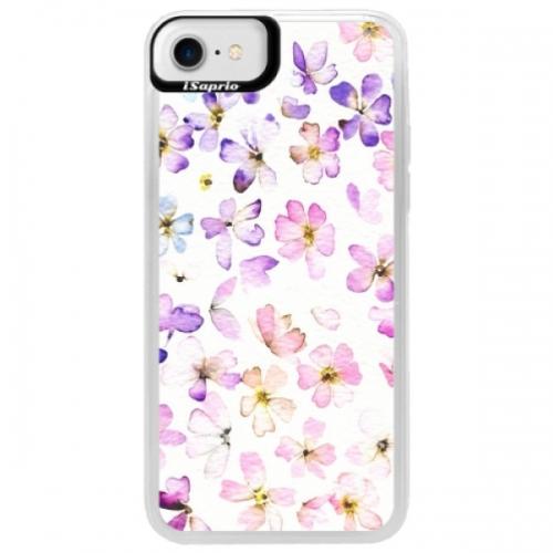 Neonové pouzdro Blue iSaprio - Wildflowers - iPhone 7