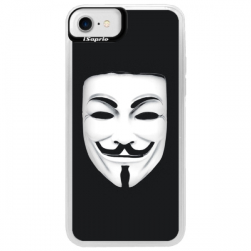 Neonové pouzdro Blue iSaprio - Vendeta - iPhone 7