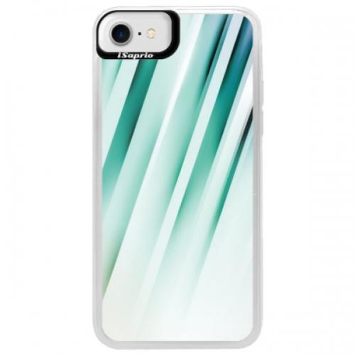 Neonové pouzdro Blue iSaprio - Stripes of Glass - iPhone 7