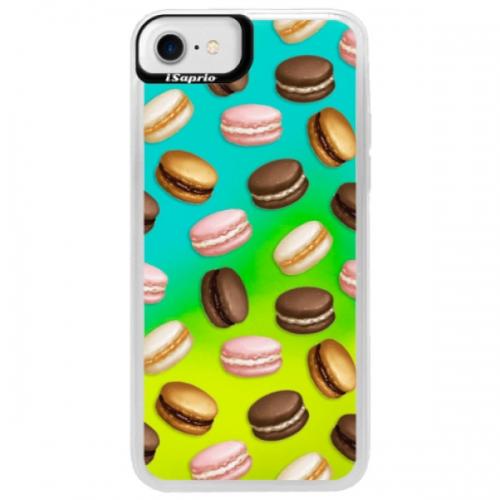 Neonové pouzdro Blue iSaprio - Macaron Pattern - iPhone 7