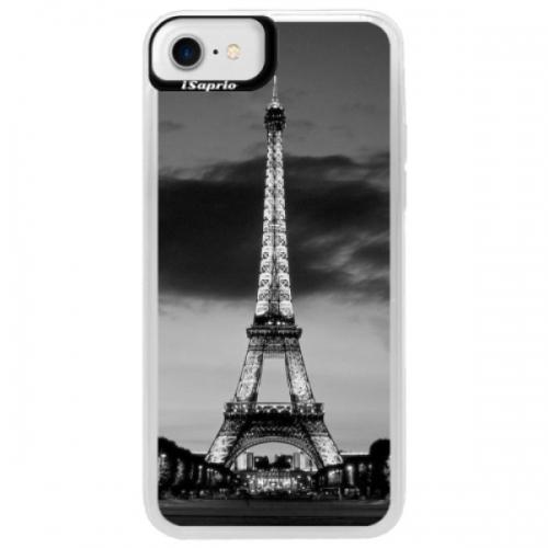 Neonové pouzdro Blue iSaprio - Midnight in Paris - iPhone 7
