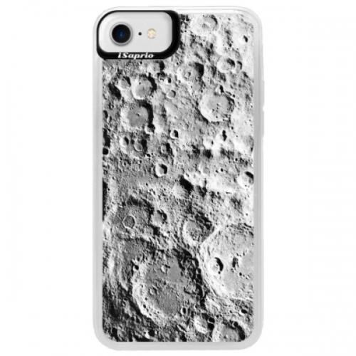 Neonové pouzdro Blue iSaprio - Moon Surface - iPhone 7