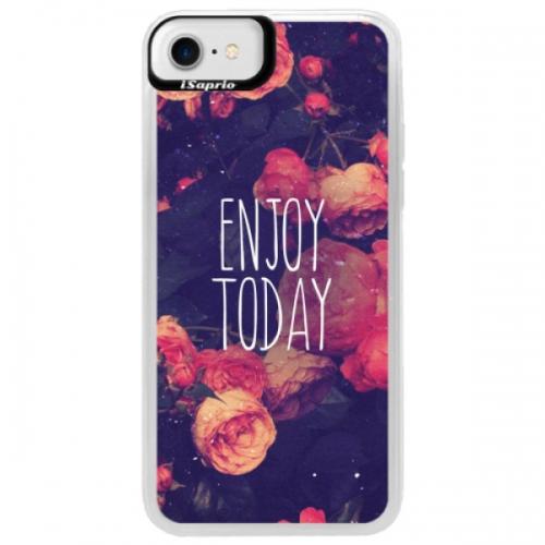 Neonové pouzdro Blue iSaprio - Enjoy Today - iPhone 7