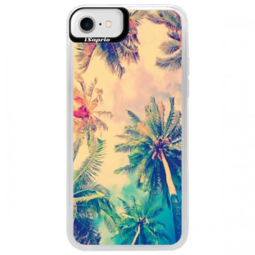 Neonové pouzdro Blue iSaprio - Palm Beach - iPhone 7
