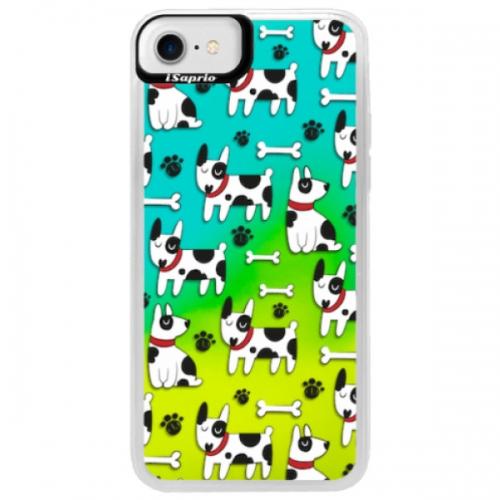 Neonové pouzdro Blue iSaprio - Dog 02 - iPhone 7