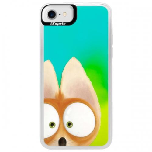 Neonové pouzdro Blue iSaprio - Fox 02 - iPhone 7
