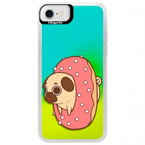 Neonové pouzdro Blue iSaprio - Dog 04 - iPhone 7