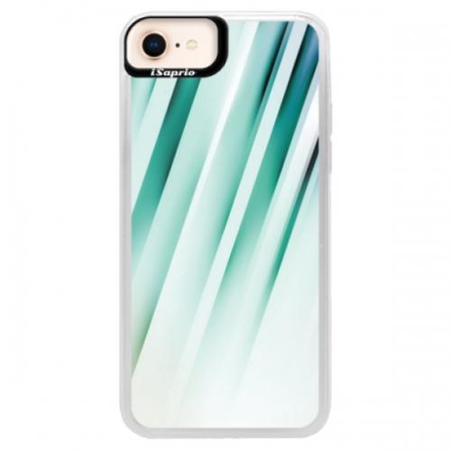 Neonové pouzdro Pink iSaprio - Stripes of Glass - iPhone 8