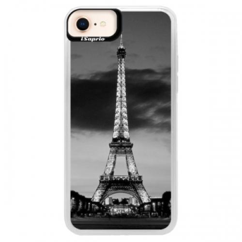 Neonové pouzdro Pink iSaprio - Midnight in Paris - iPhone 8