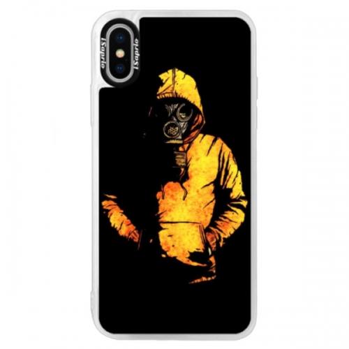 Neonové pouzdro Blue iSaprio - Chemical - iPhone X