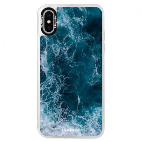 Neonové pouzdro Pink iSaprio - Ocean - iPhone XS